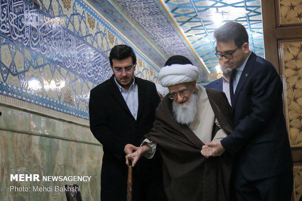 مراسم میلاBirth anniv. of Imam Hasan al-Askari celebrated in Qom
