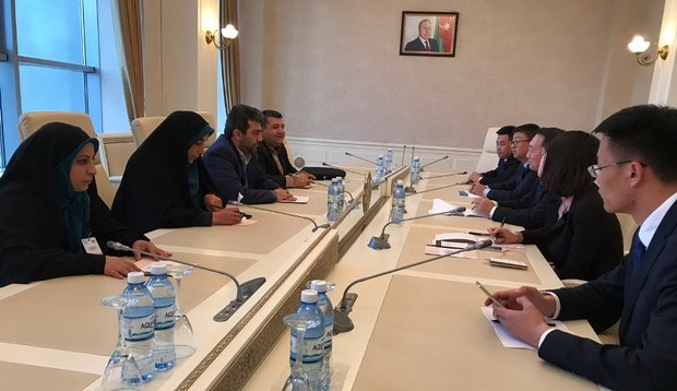 Iranian delegate meets with parl. delegations from 5 countries