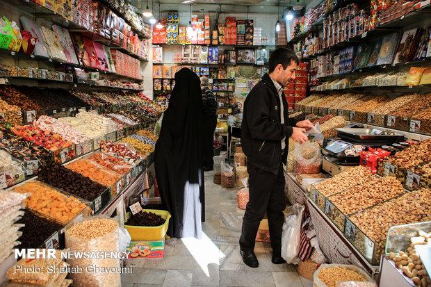 التسوق لليلة يلدا في ايران