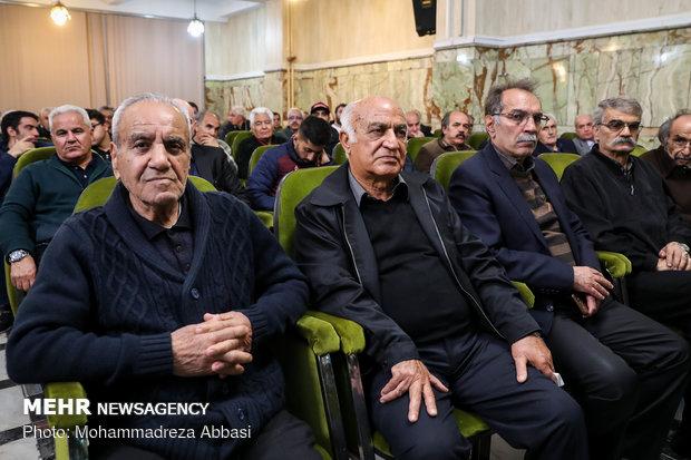 مراسم یادبود مرحوم ایرج داناییفرد