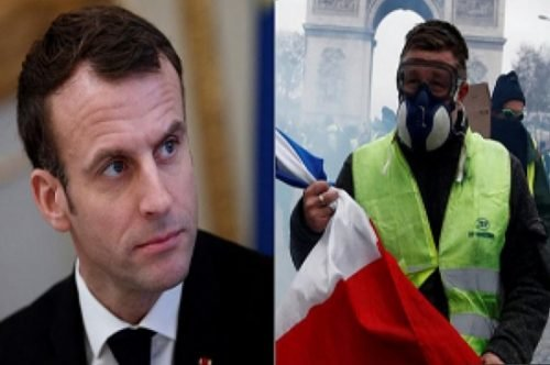 Macron's forced withdrawal before the Yellow Vests