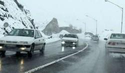جاده های گلستان لغزنده است/لزوم به همراه داشتن تجهیزات زمستانی