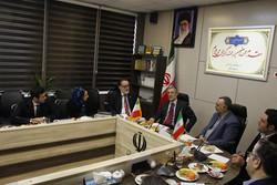 دیدار محسن جوادی با سفیر و مدیر بنیاد مطالعات دینی ایتالیا