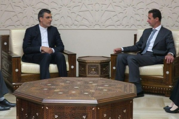 Jaberi, Assad confer on Syrian Constitution committee