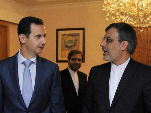 جابري أنصاري يلتقي الرئيس السوري