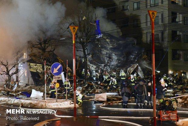 انفجار در رستوران ژاپنی