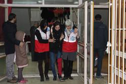 مانور زلزله در خوابگاه دانشجویی قزوین برگزار شد