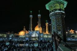 Pilgrims mourn for Hazrat Masoumeh