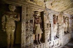 کشف مقبره باستانی در مصر