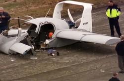 تصاویر خودروی پرنده ای که سقوط کرد