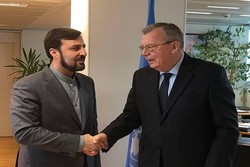 Iran's envoy meets UNODC head in Vienna