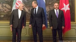 Russia, Iran, Turkey seek deal on Syria constitutional body at UN