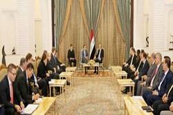 صالح: همکاری با اتحادیه اروپا برای کاهش تنشها در منطقه ضروری است