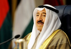 Kuwait Emir welcomes close ties with Iran
