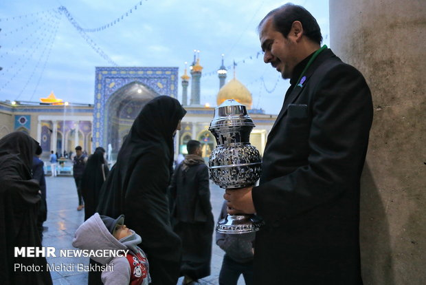 Holy shrine of Hazrat Masoumeh (SA) on eve of death anniversary