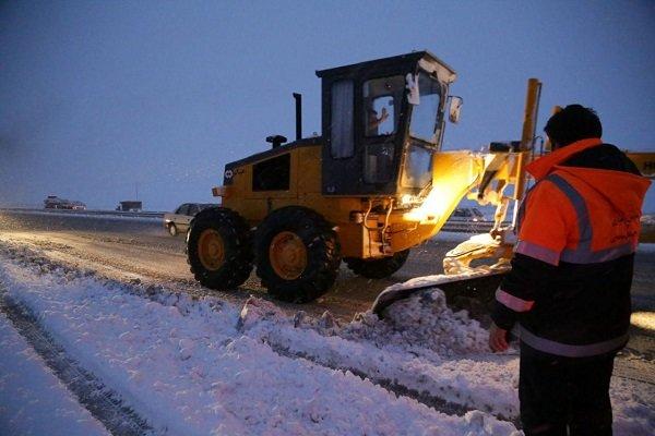 تداوم بارش شدید برف در هراز و فیروزکوه