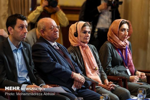 مراسم افتتاحیه  اجلاس عالی تخصصی مشورتی مدیریت اطلاعات بلایا