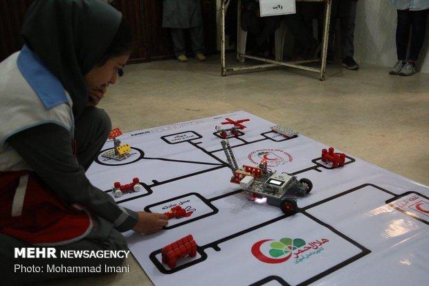 مرحله استانی مسابقات طرح رباتیک
