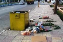 نفس تنگ آبادان در زیر بار انبوه زباله ها