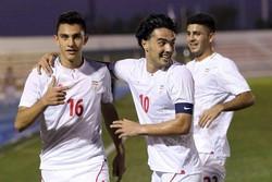 Iran U-23 beats Syria in friendly match