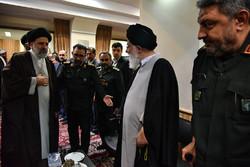 مراسم ترحیم سردار قدرت الله منصوری در حرم مطهر رضوی