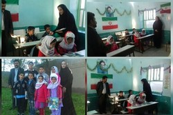 طرح «یک روز خوب با کتاب» در مدارس روستایی دیلم اجرا شد