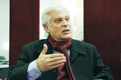 Asif Saeed Kirmani, a Pakistani senator