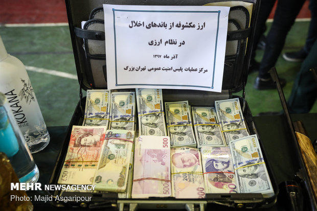 Tehran Police arrest thugs, muggers