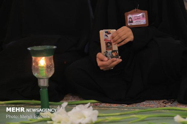 آيين خطبه خواني و شمع گرداني خادمان حرم حضرت معصومه(س)