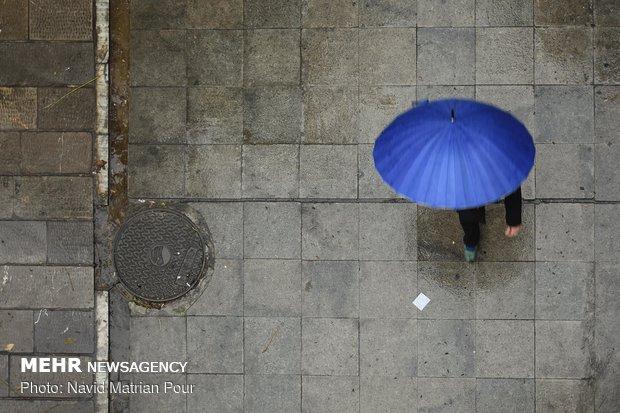 Autumn rainfall in Tehran