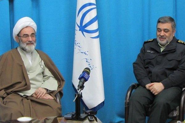 فعالیتهای نیروی انتظامی در راستای تحقق اهداف انقلاب اسلامی است