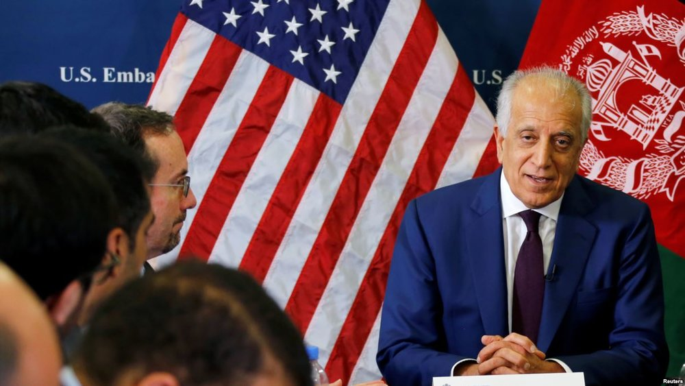 USA envoy Khalilzad discusses ongoing Afghan peace process with Gen Qamar