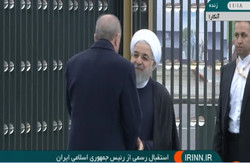 VIDEO: Rouhani's official reception in Ankara