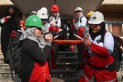 مانور امداد ونجات چند منظوره زلزله برگزار میشود