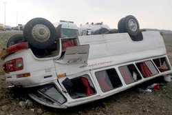 تعداد مصدومان تصادف زنجیره ای در گلستان به ۲۶ نفر رسید