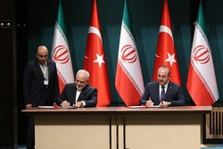 Iran, Turkey sign two MoUs