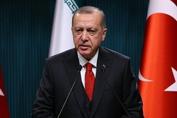 اردوغان: تروریستهائی که خون مسلمانان را میریزند سلاح غربی دارند