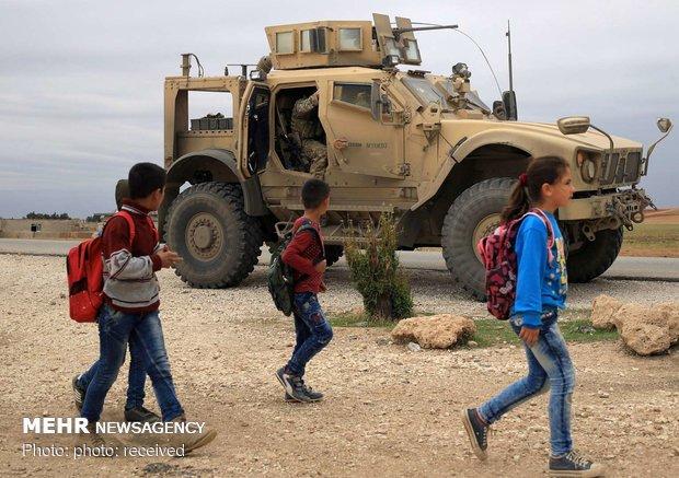 نظامیان آمریکایی در سوریه