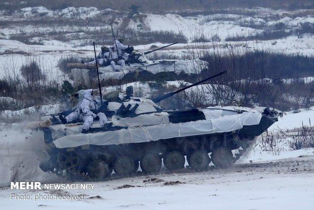 مانور نظامی در اوکراین