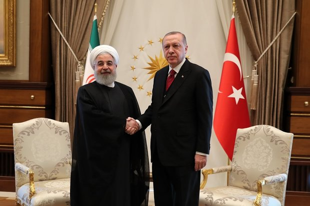 Rouhani, Erdoğan hold bilateral talks in Ankara