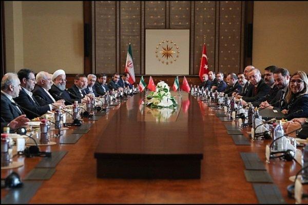 بدء الإجتماع الإيراني التركي المشترك في أنقرة