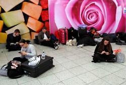 توقف پروازها در فرودگاه گتویک