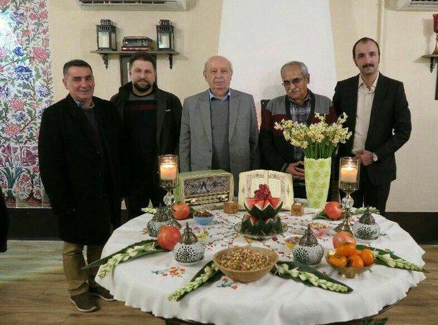 ضیافت پیشکسوت نشر گیلان در محفل گلپریها
