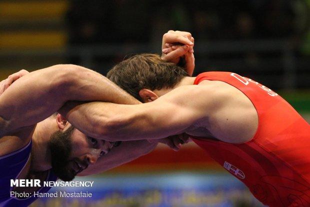 فرنگیکاران برتر ۵ وزن نخست مشخص شدند/ ۴ مدال به ایران رسید