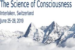 کنفرانس سالانه علم فهم و آگاهی برگزار می شود