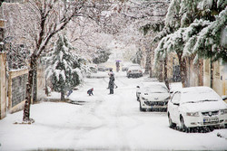 Heavy snowfall in northwest cities of Iran
