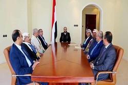 استقبال شورای عالی سیاسی انصارالله یمن از قطعنامه ۲۴۵۱ شورای امنیت