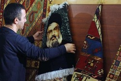 Iranian handicrafts on show in Beirut