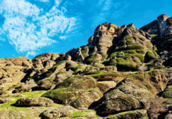 "Makhmal Kuh: rugged, towering mountain of ""velvet""!"