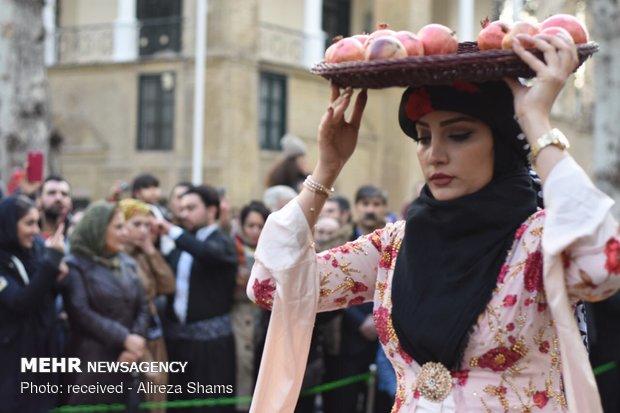Pomegranate festival in Tehran